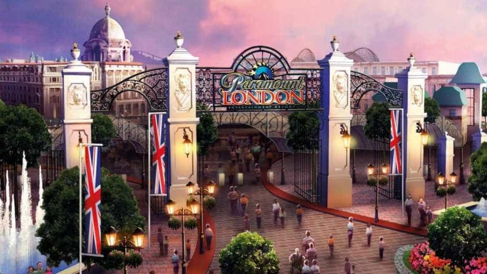 Londres vai ganhar parque de diversões concorrente da Disney