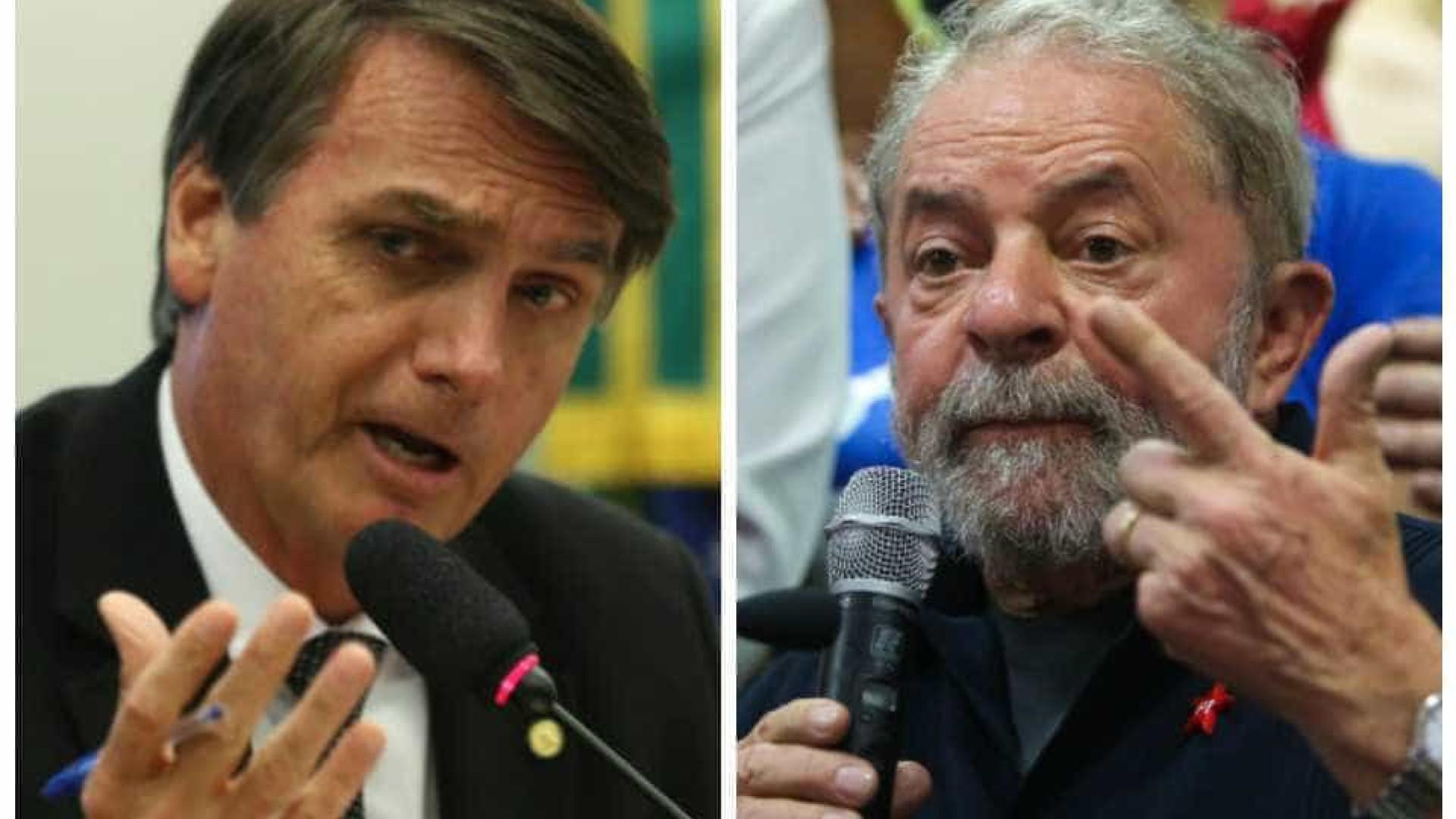 Bolsonaro e Lula estão empatados em um possível 2º turno de 2022, diz CNN