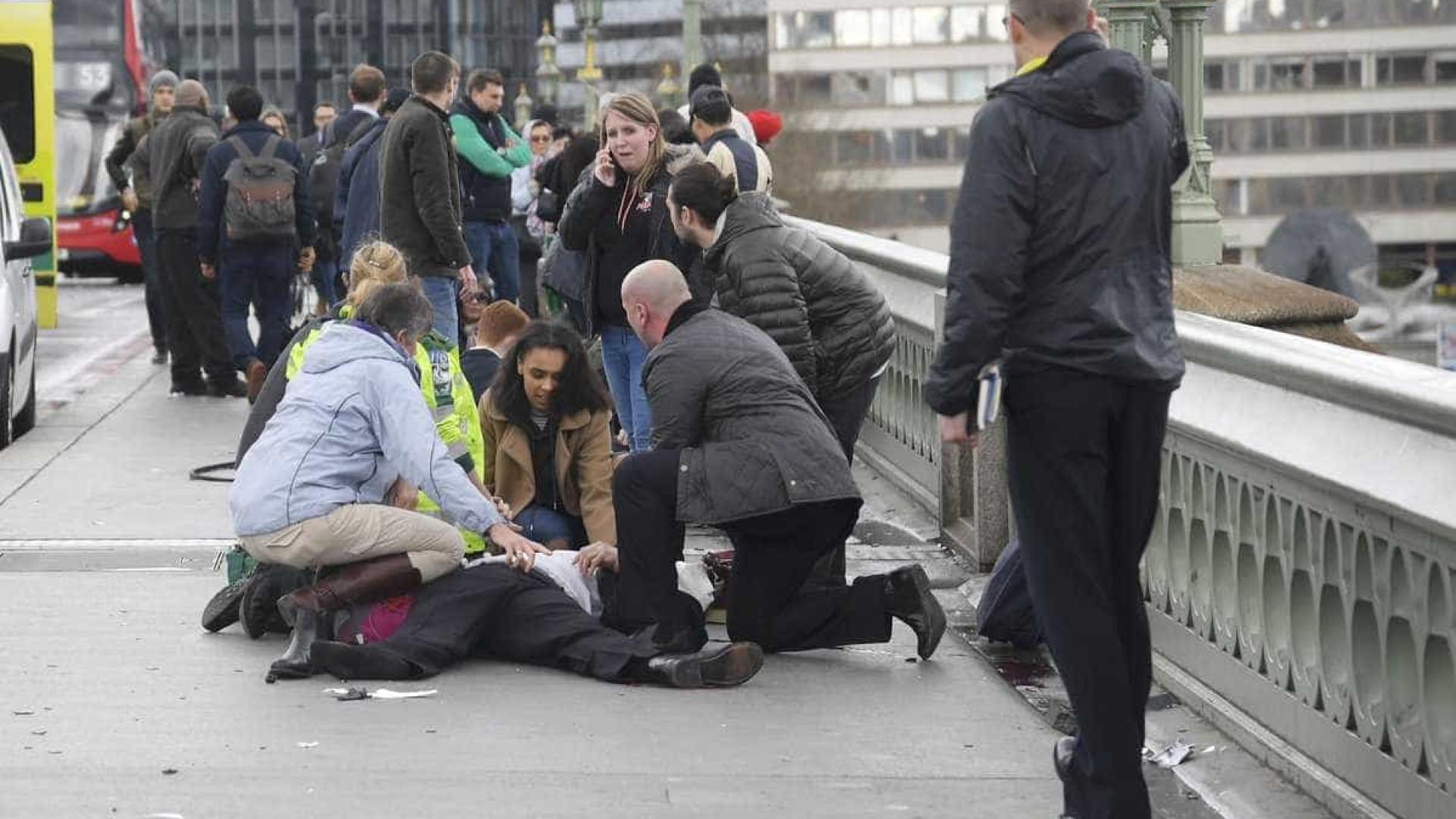 Veja as fotos do atentado em Londres