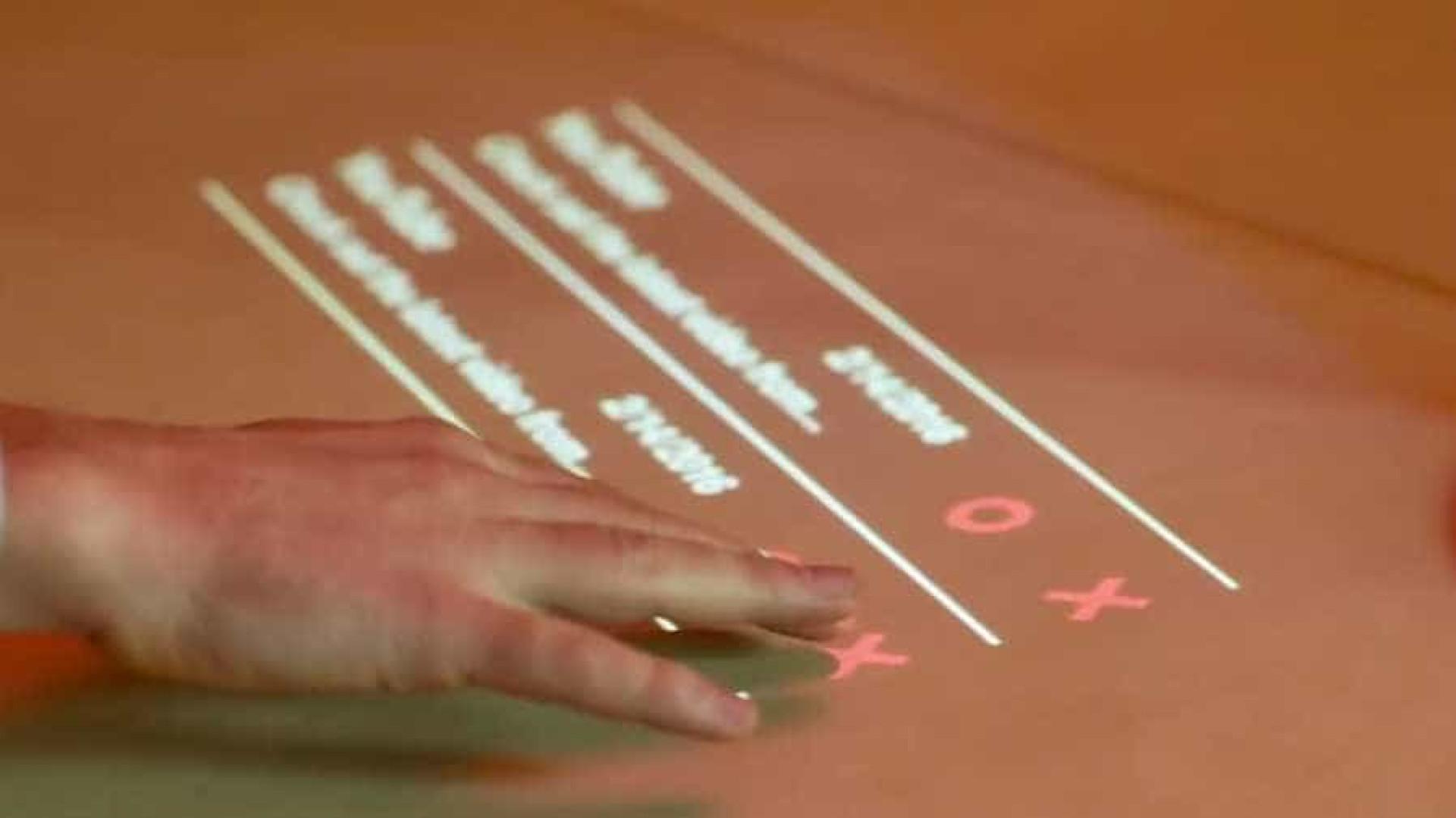 Conheça 'Lampix': o abajur que cria interações futurísticas