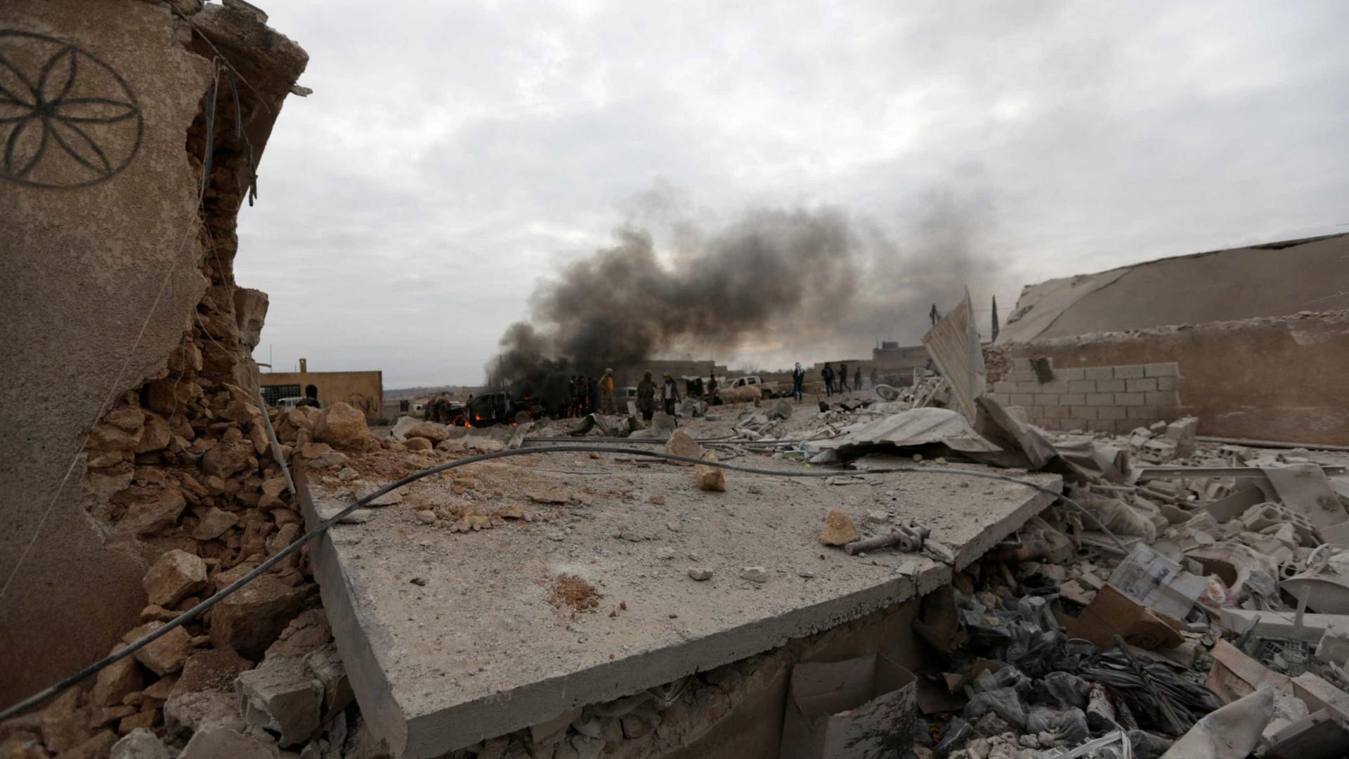 Exército sírio destruiu mísseis lançados em ataque israelita