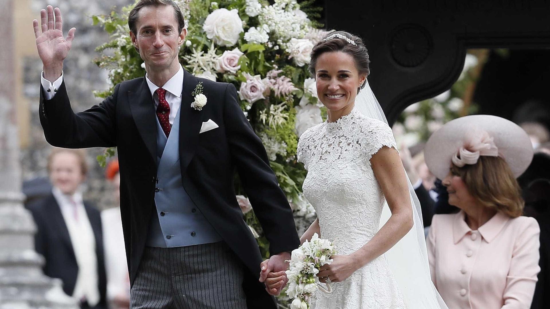 Pippa Middleton está grávida do primeiro filho, diz site