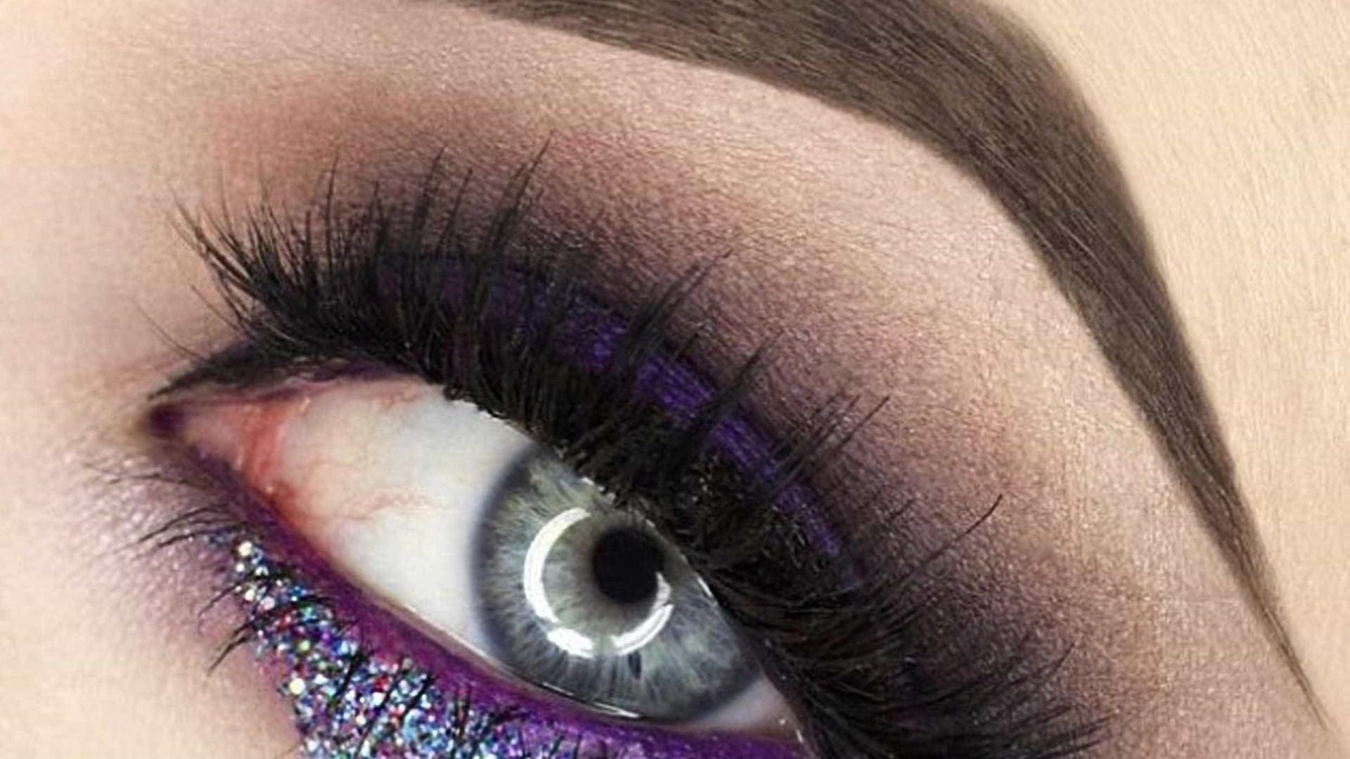 Alerta tendência: lágrimas de glitter