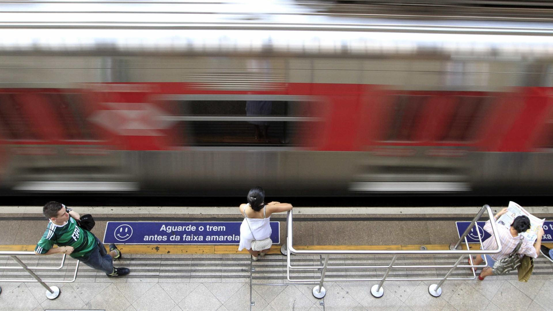 Após estabilização de viaduto, trens funcionam com velocidade reduzida