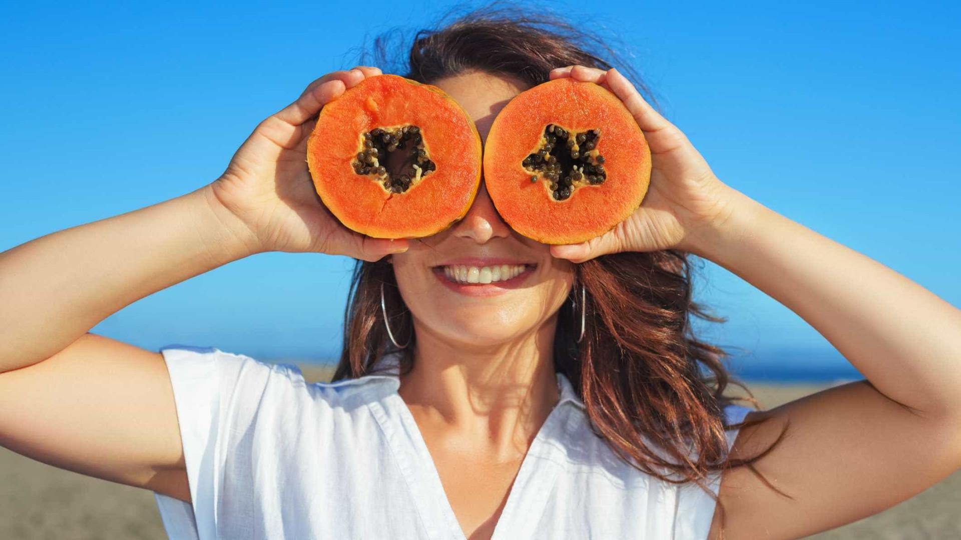 Mamão: Um alimento poderoso rico em antioxidantes
