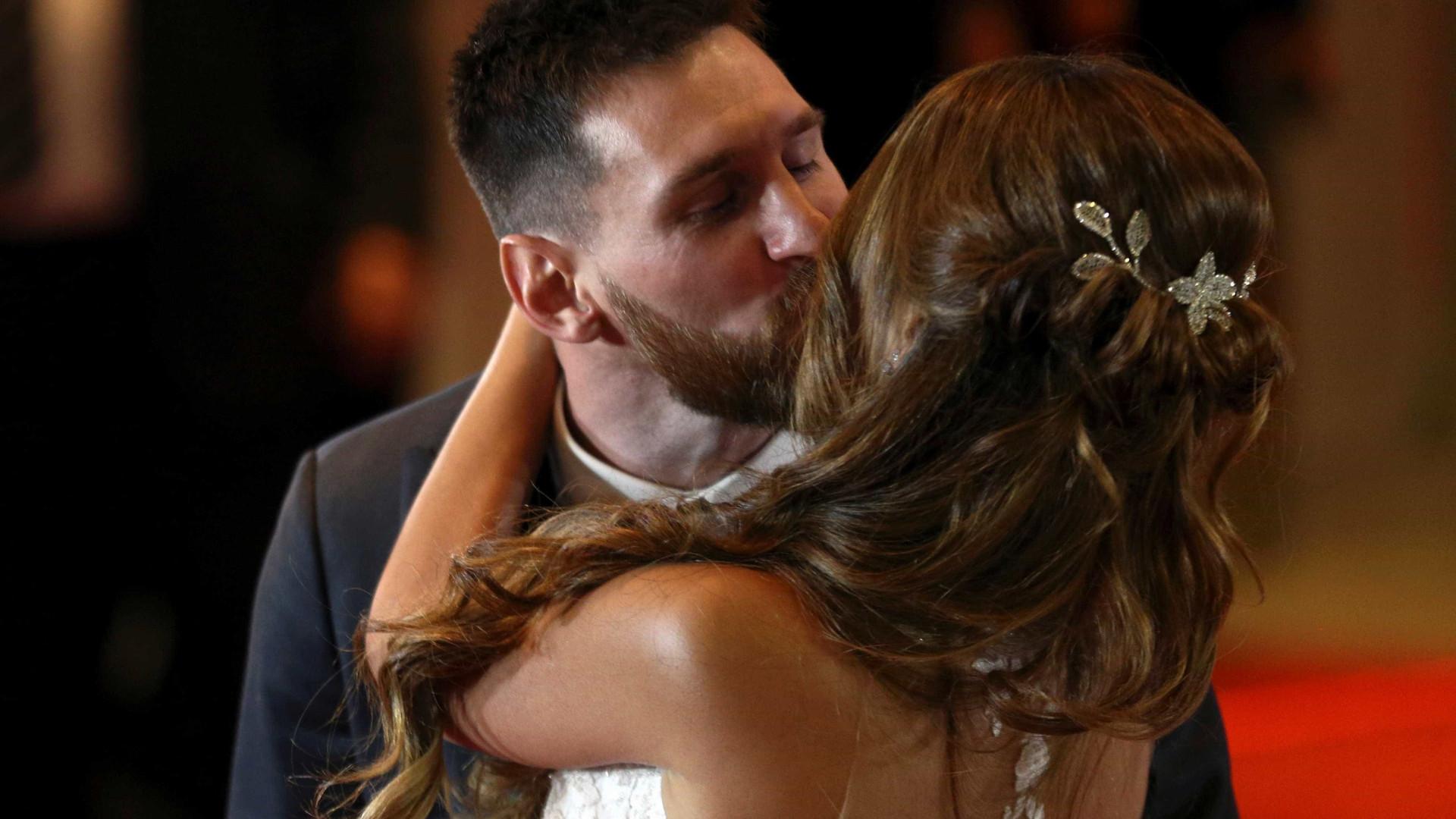 Messi e Antonella se casam na Argentina; confira as fotos