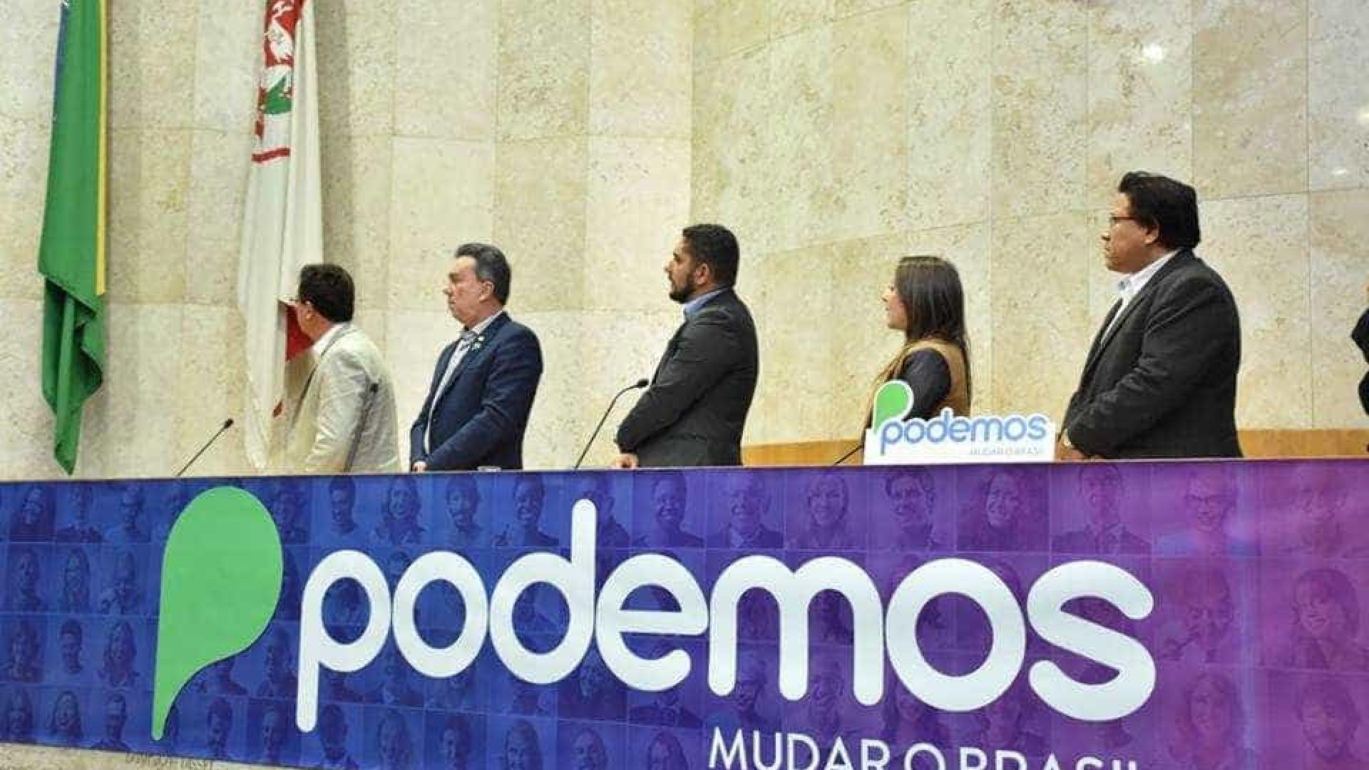 'Sigla da Lava Jato', Podemos vira alvo dos bolsonaristas