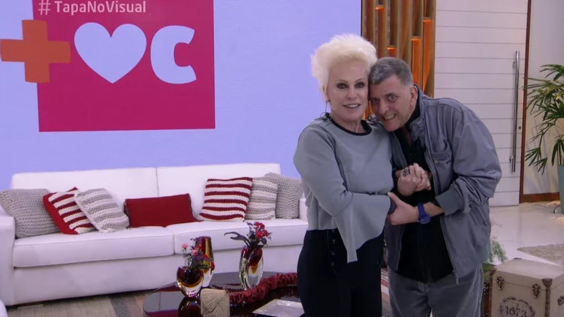 Após AVC, Jorge Fernando vai ao 'Mais Você' e Ana Maria chora