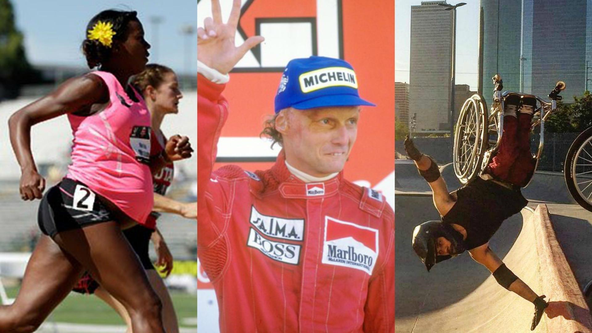 30 atletas que superaram os próprios limites no esporte