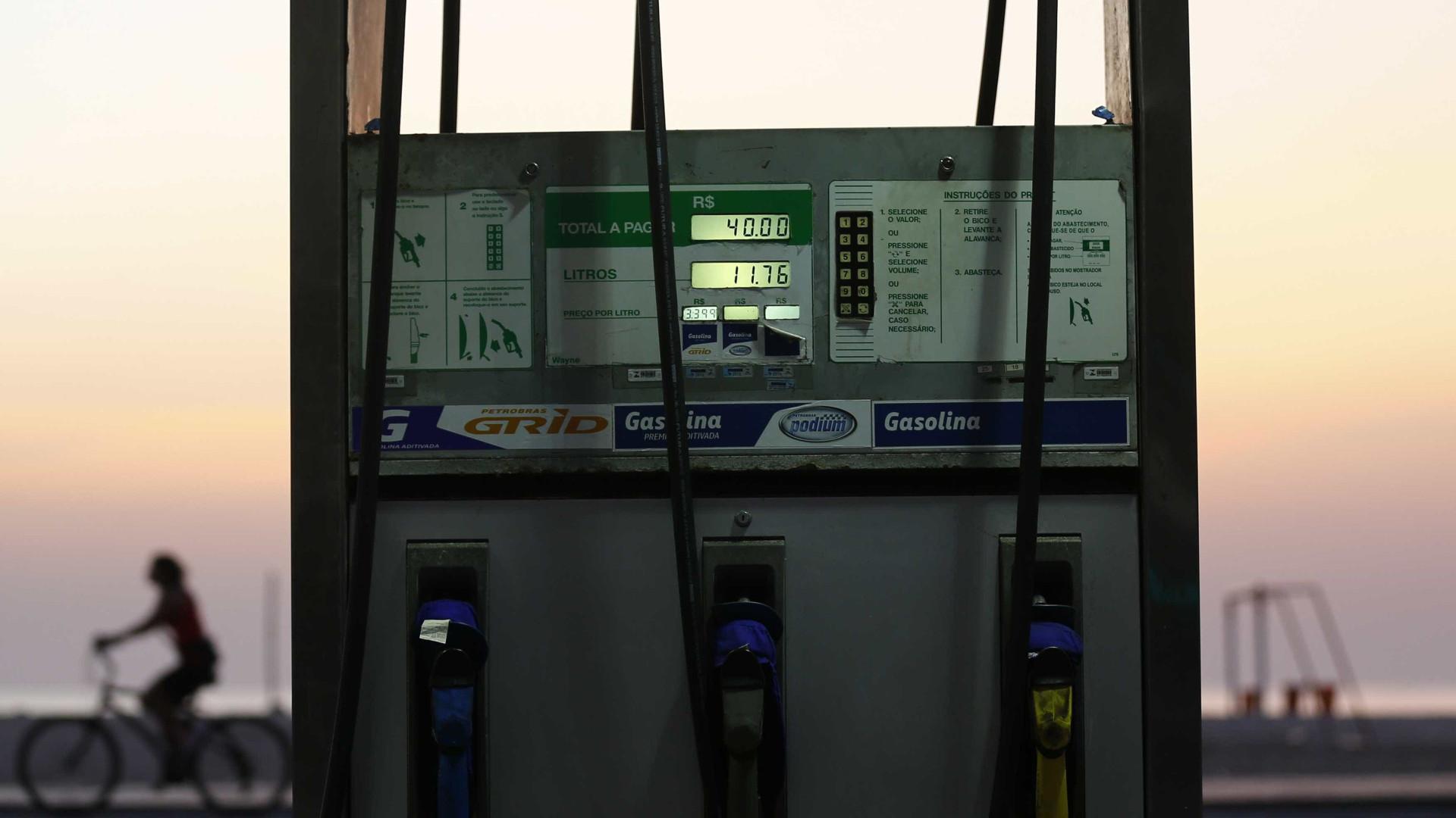Gasolina sobe em 20 Estados e DF; valor médio avança 1,10%