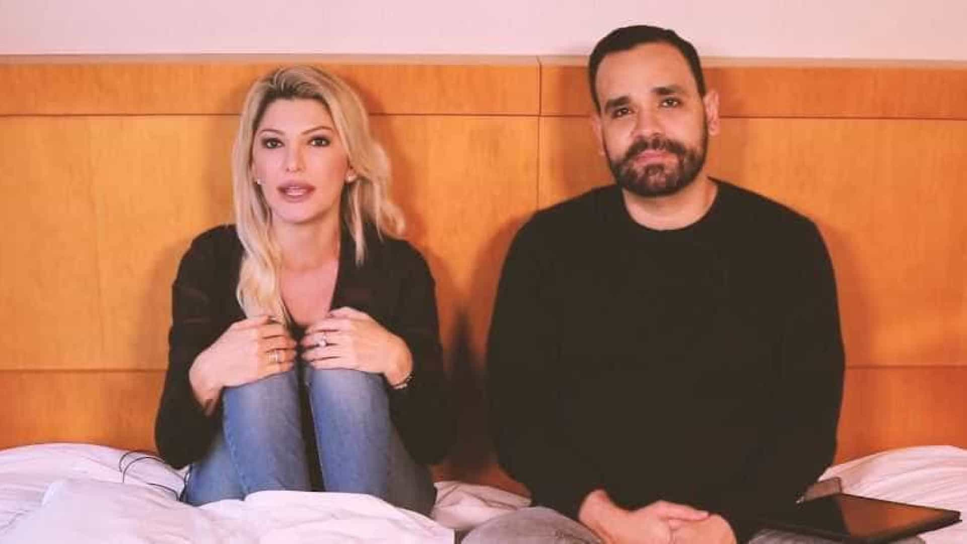 Fontenelle pede perdão a Flávia Alessandra: 'Só fiz amar o seu ex'