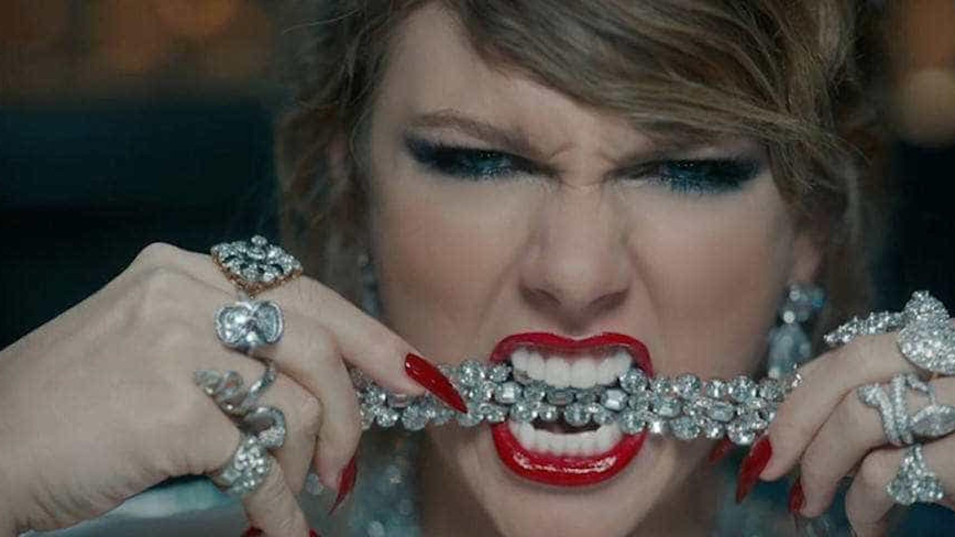 Nova música de Taylor Swift quebra recordes de streaming na internet