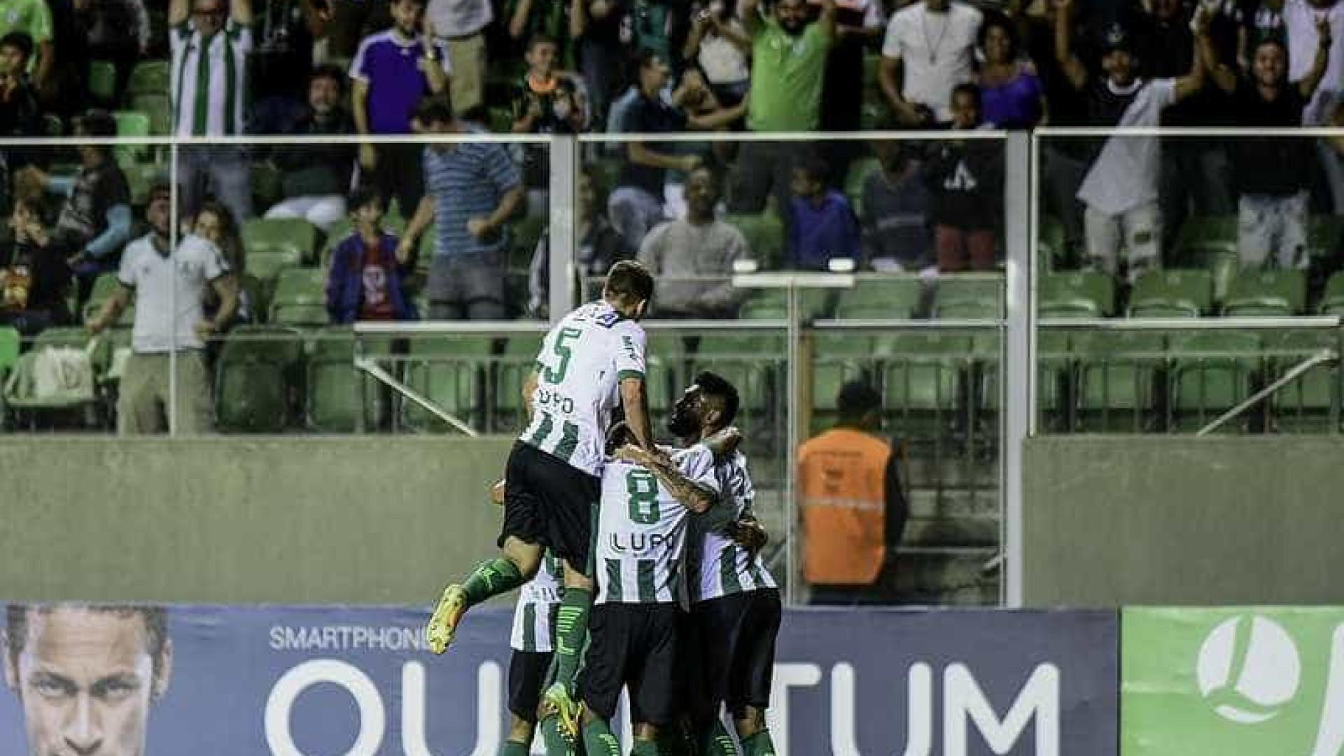 América-MG volta à liderança após vencer o Vila Nova
