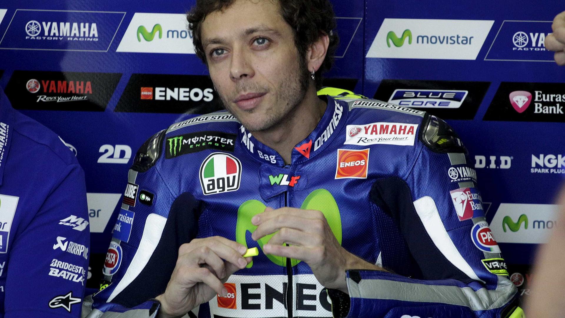 Valentino Rossi confessa ter medo de se aposentar