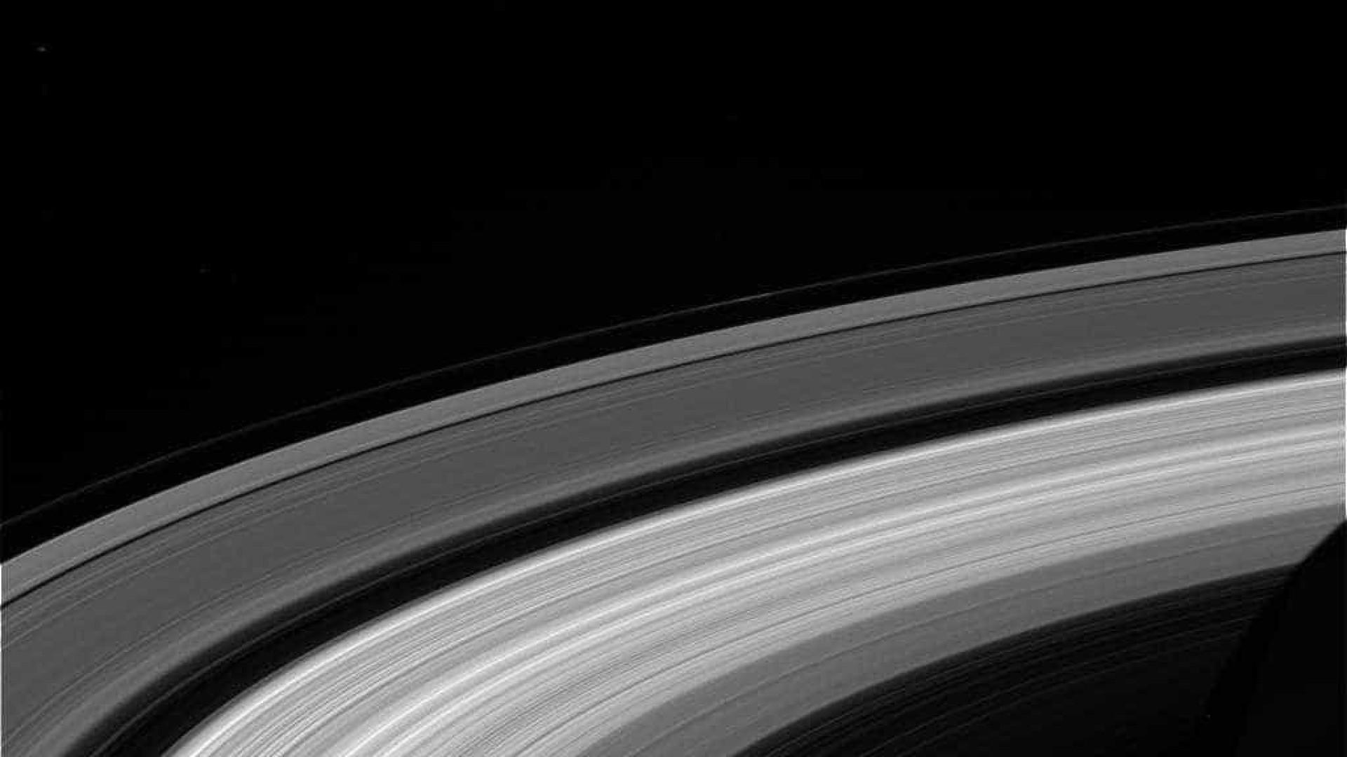 Revelada última imagem de Saturno feita pela Cassini