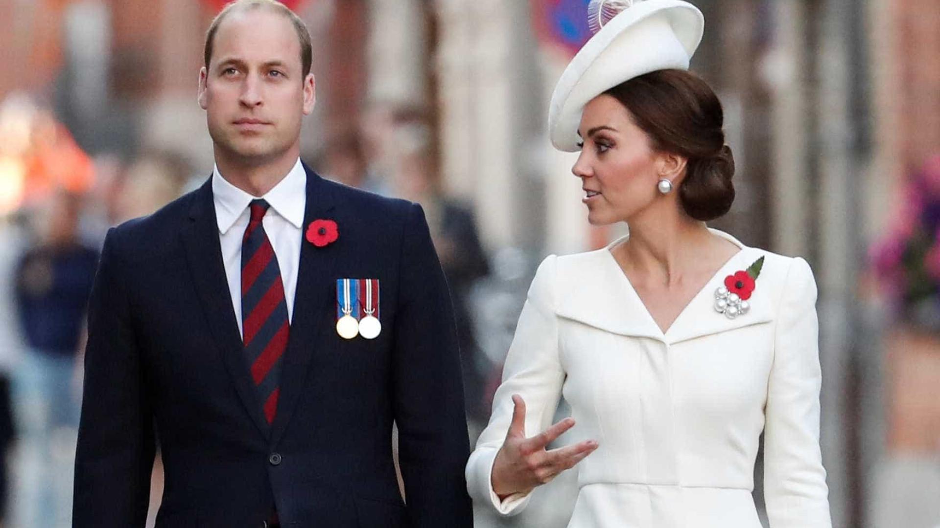 Sete funcionários de William e Kate Middleton abandonaram funções