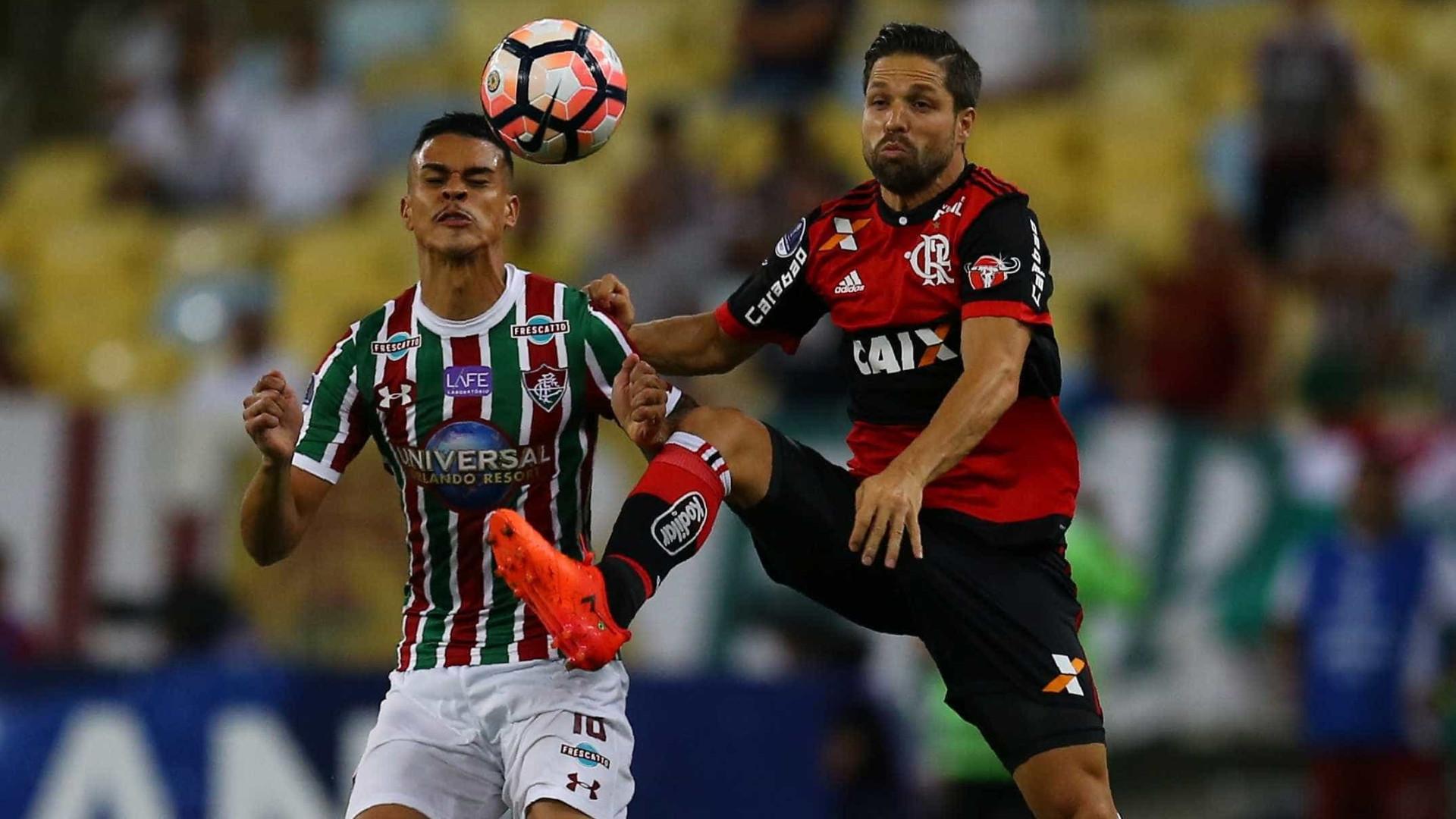 Flamengo faz 1 a 0 no Flu e pode empatar para ir à semi da 'Sula'