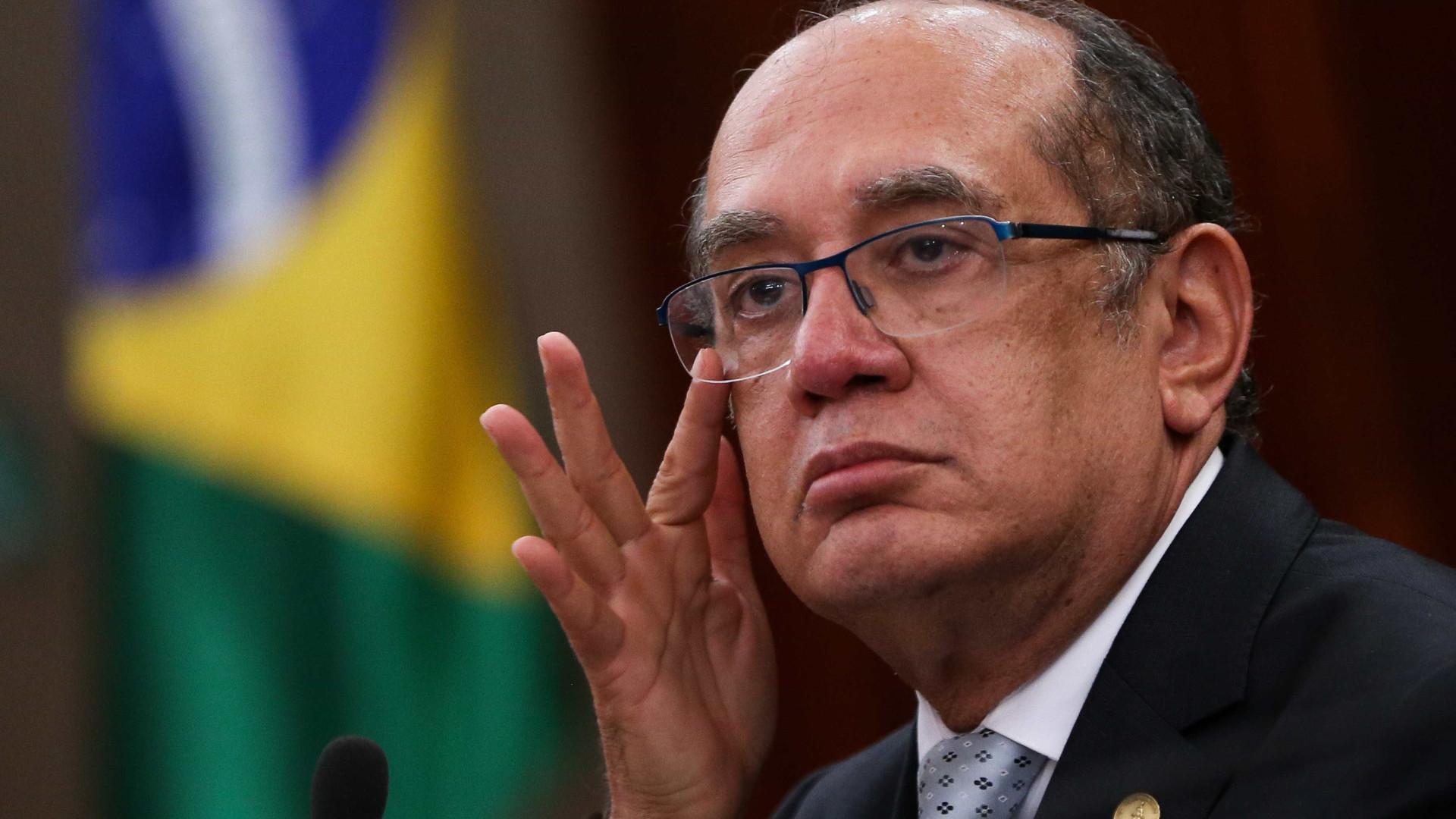 Gilmar Mendes pede 'ponderação e cuidado'