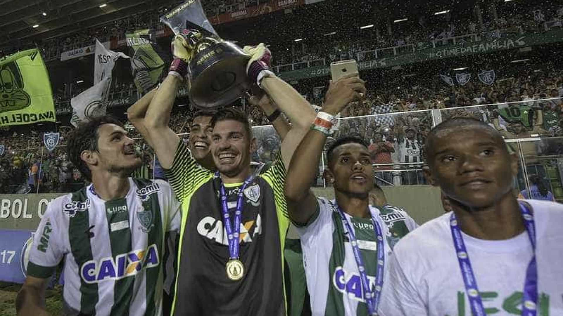 América-MG vence o CRB e conquista o título da Série B; Inter é vice