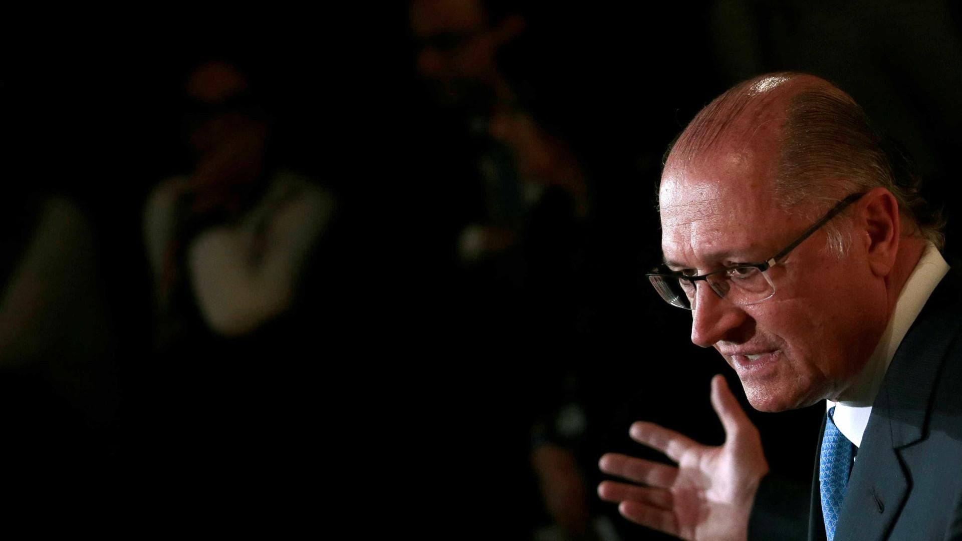 MP questiona 'alegação de sigilo' sobre renúncia de receitas de Alckmin