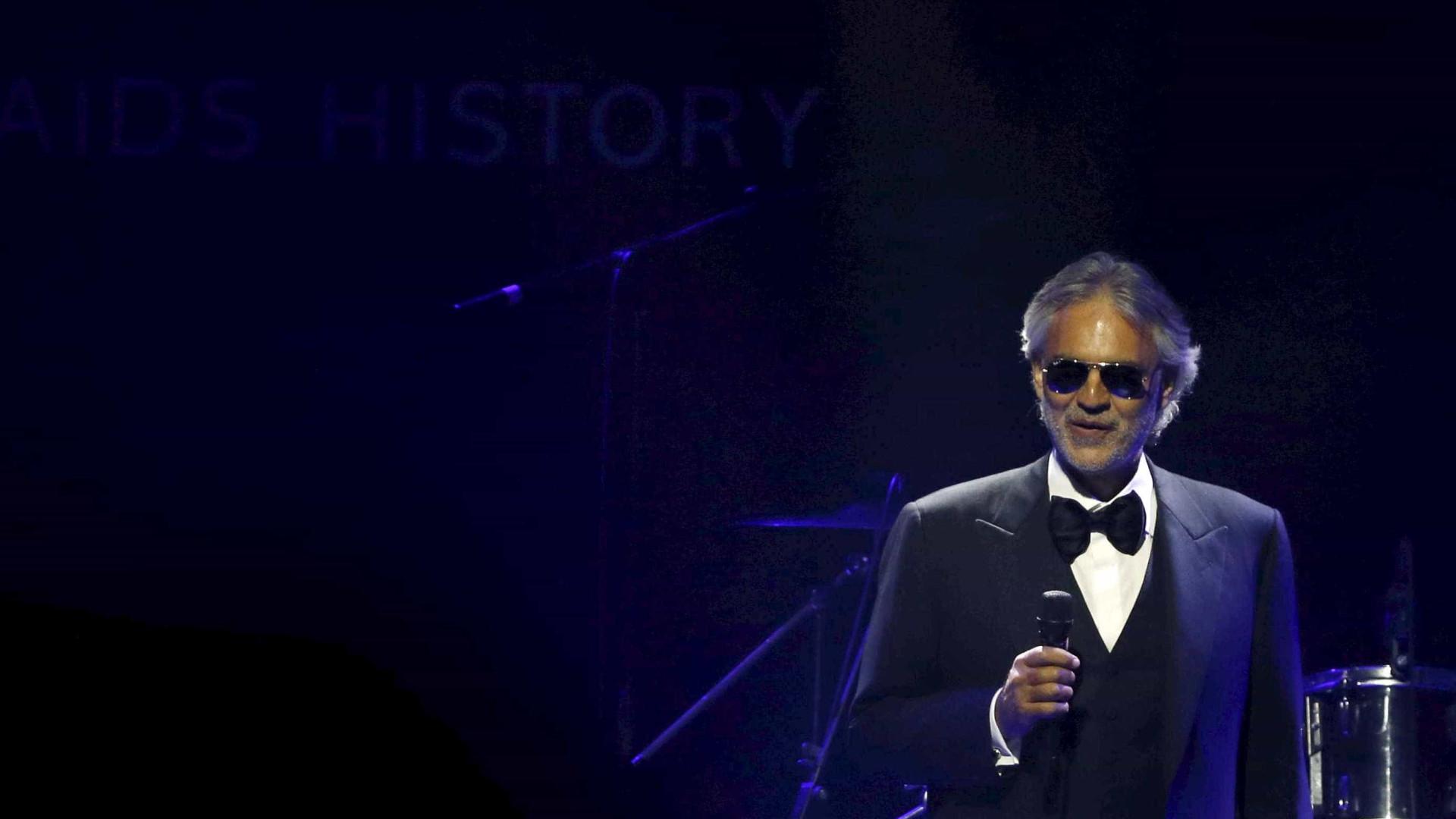 Bocelli revela torcida pelo Brasil na Copa antes de turnê no país