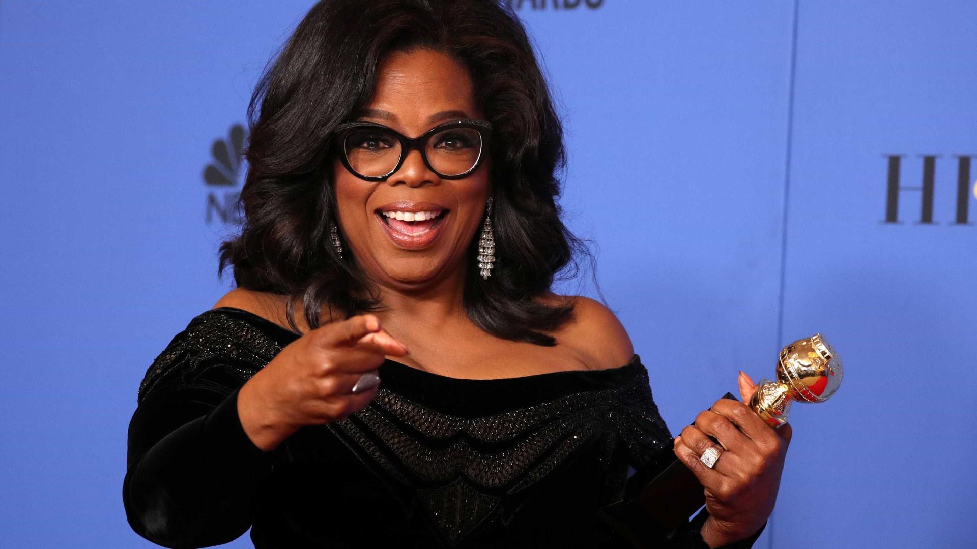 Oprah Winfrey doa R$ 65 milhões para ajudar a combater a Covid-19