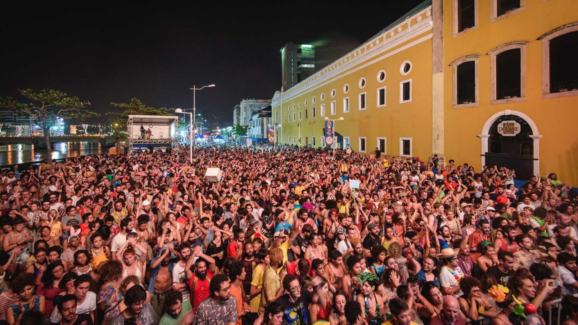 Festival no Carnaval do Recife tem música pop, jazz e brega-funk