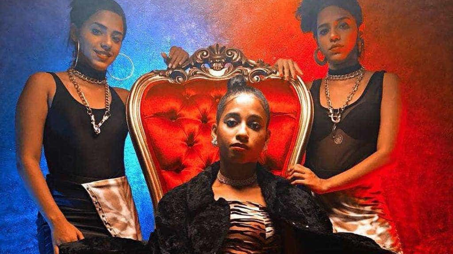 MCLoma e as Gêmeas Lacração gravam clipe 'ostentação'