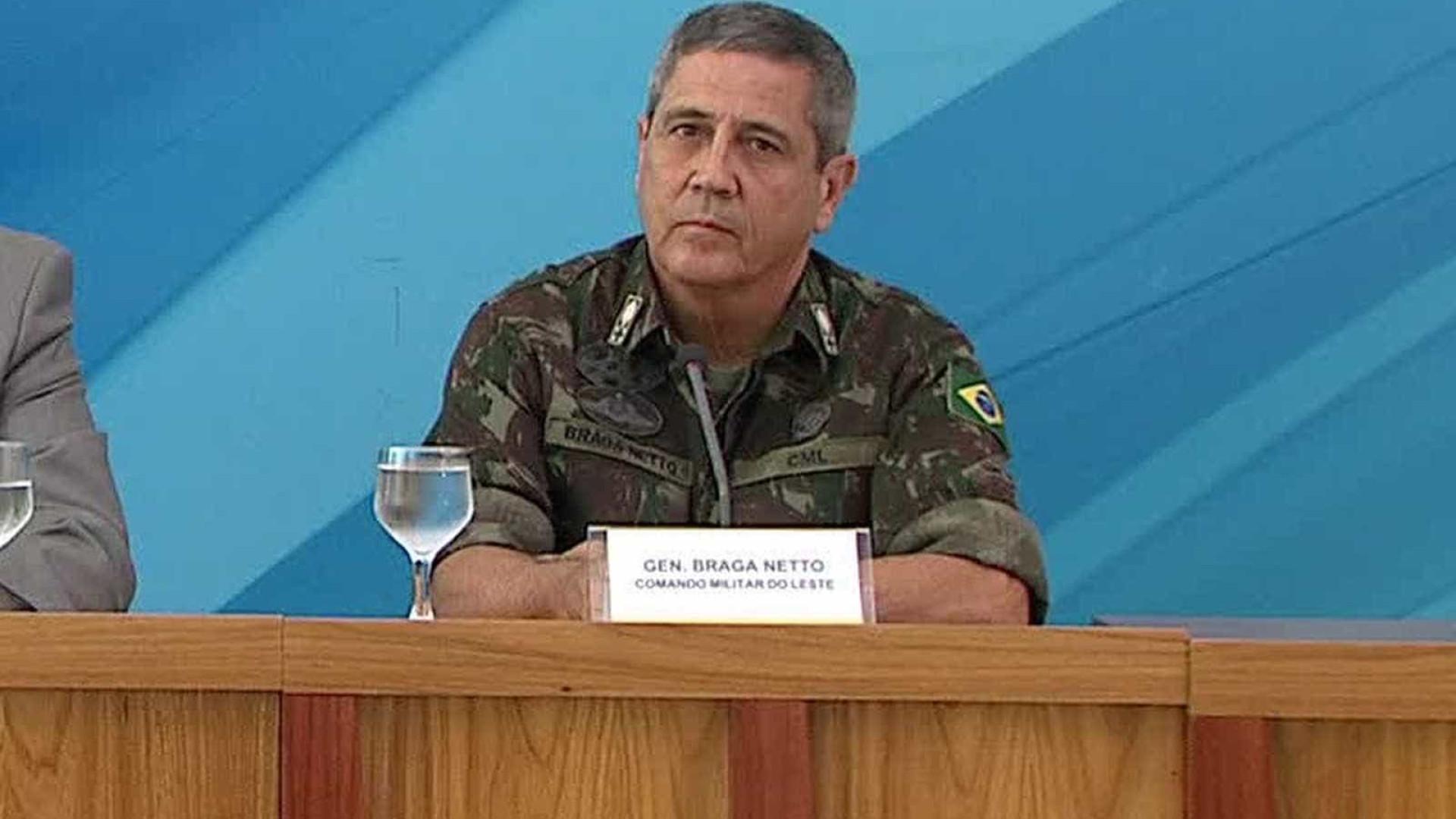 Responsável pela intervenção, general teve irmão assassinado no Rio