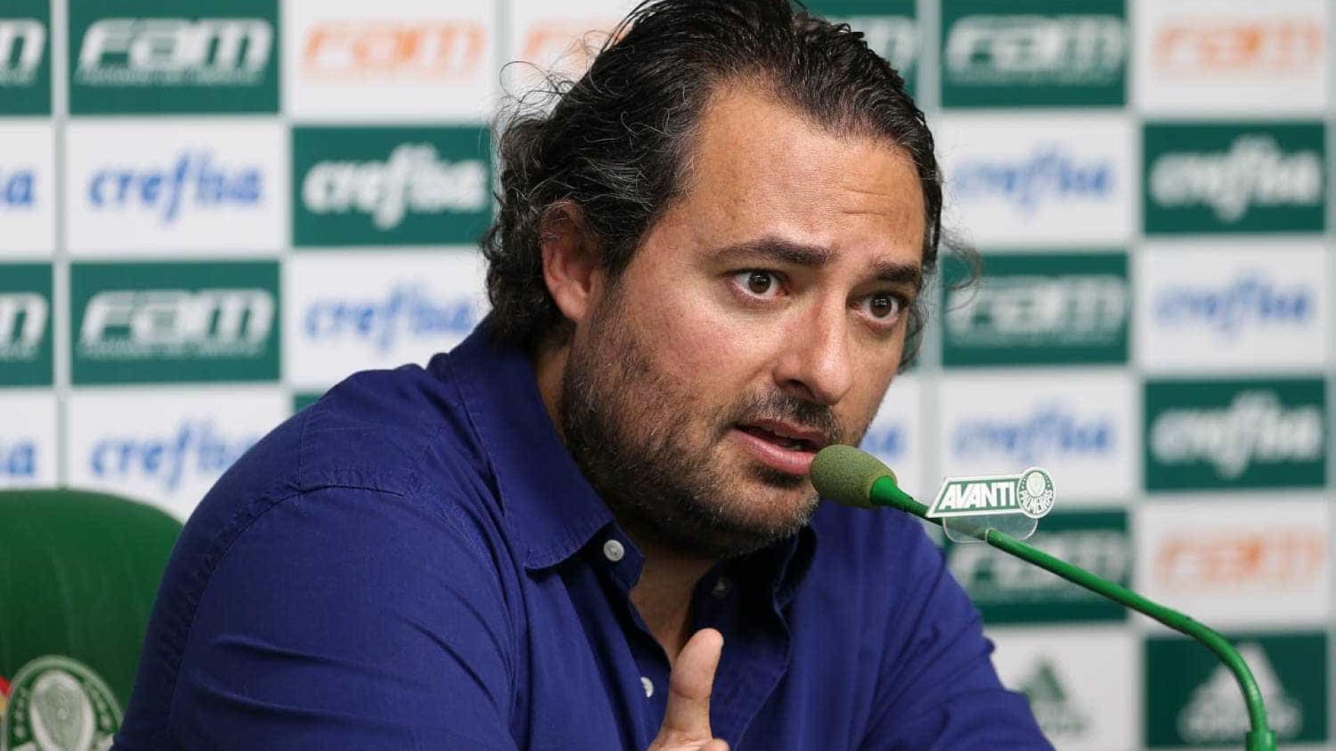 'Filme de terror', descreve Mattos sobre apuro em voo do Palmeiras