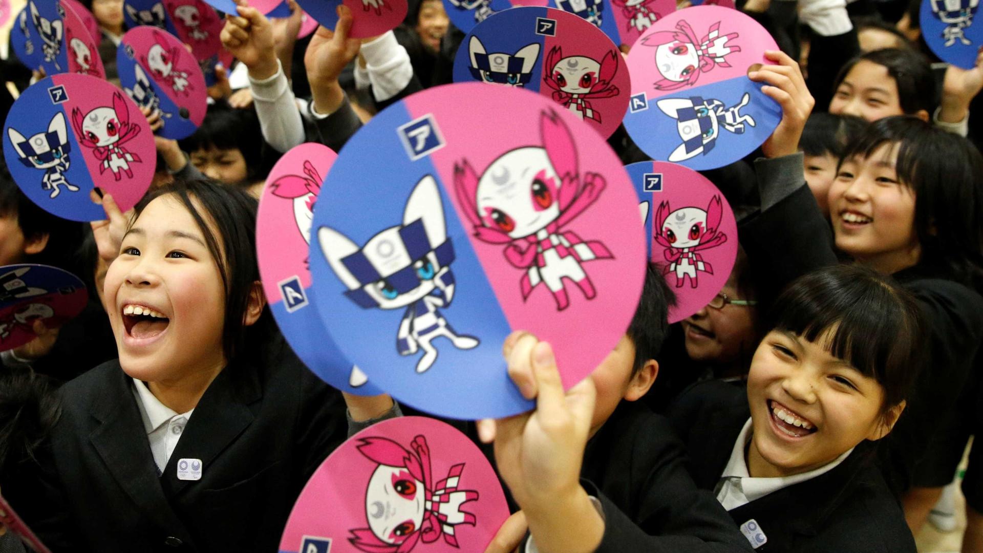 Japão revela mascotes dos Jogos Olímpicos de 2020