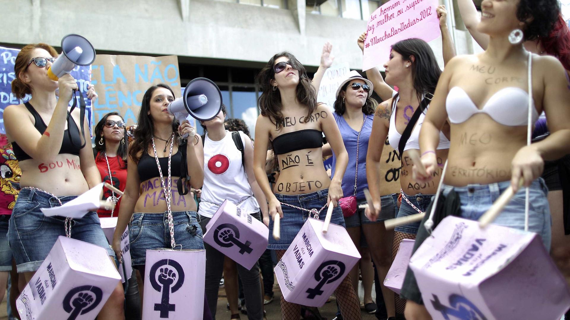 этом месяце бразильские проститутки вышли на улице стала говорить, что