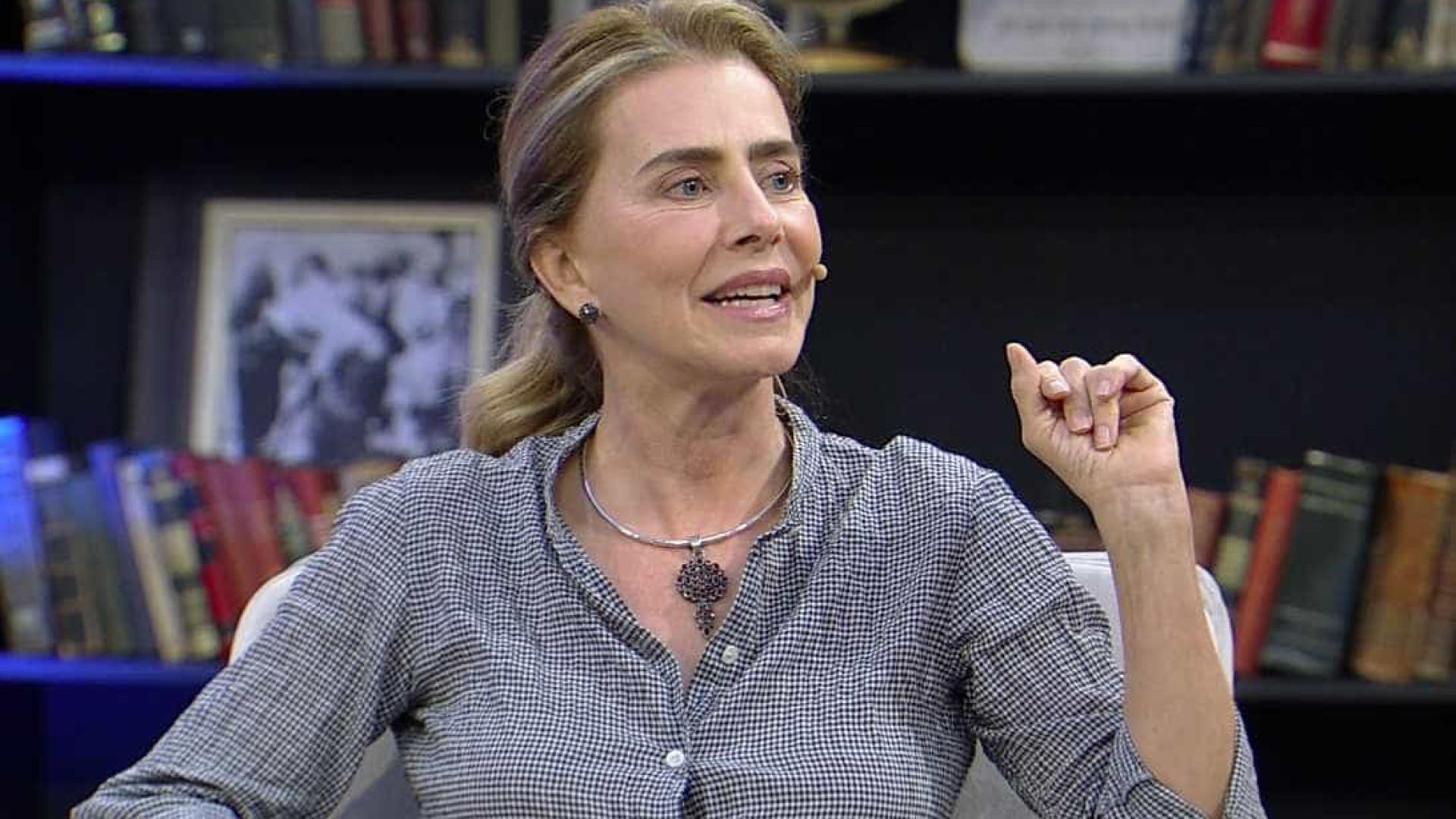 Com Covid, Maitê Proença lamenta não ir às ruas contra Bolsonaro