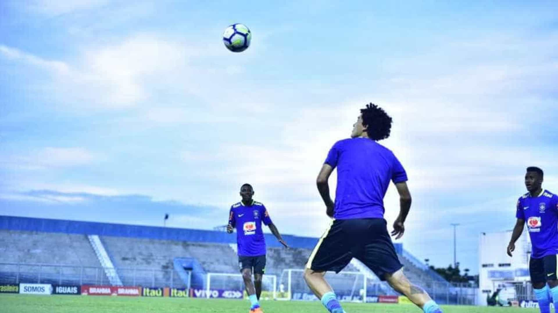 Seleção Sub-20 está definida para jogo com México