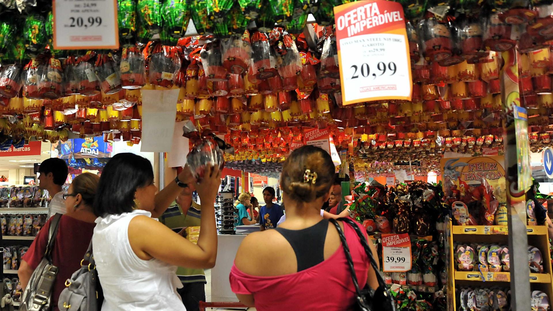 Intenção de compra na Páscoa cresce em relação a 2018, diz Boa Vista