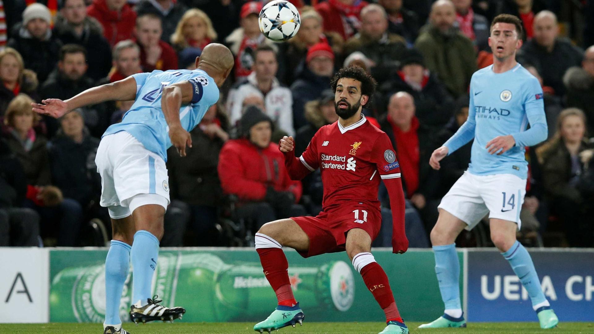 Salah desbanca CR7 e é eleito o craque da rodada na Champions