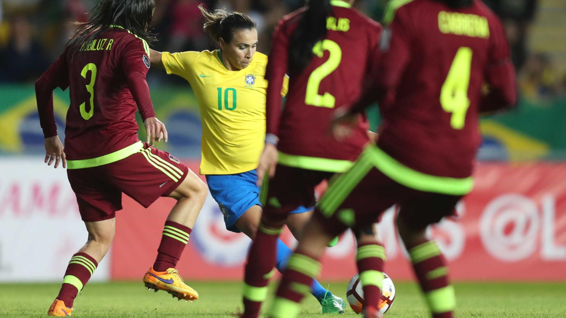 CBF publica vídeo com melhores jogadas de Marta pela Seleção