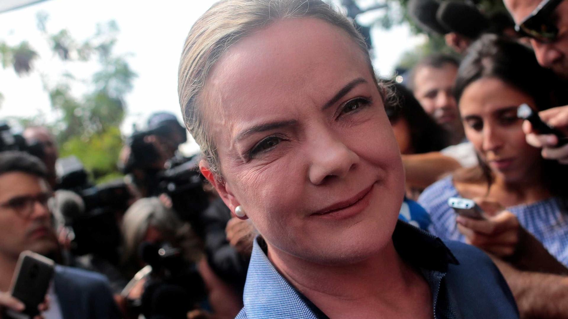 Gleisi vê 'motim judicial' após condenação e aumento da pena de Lula