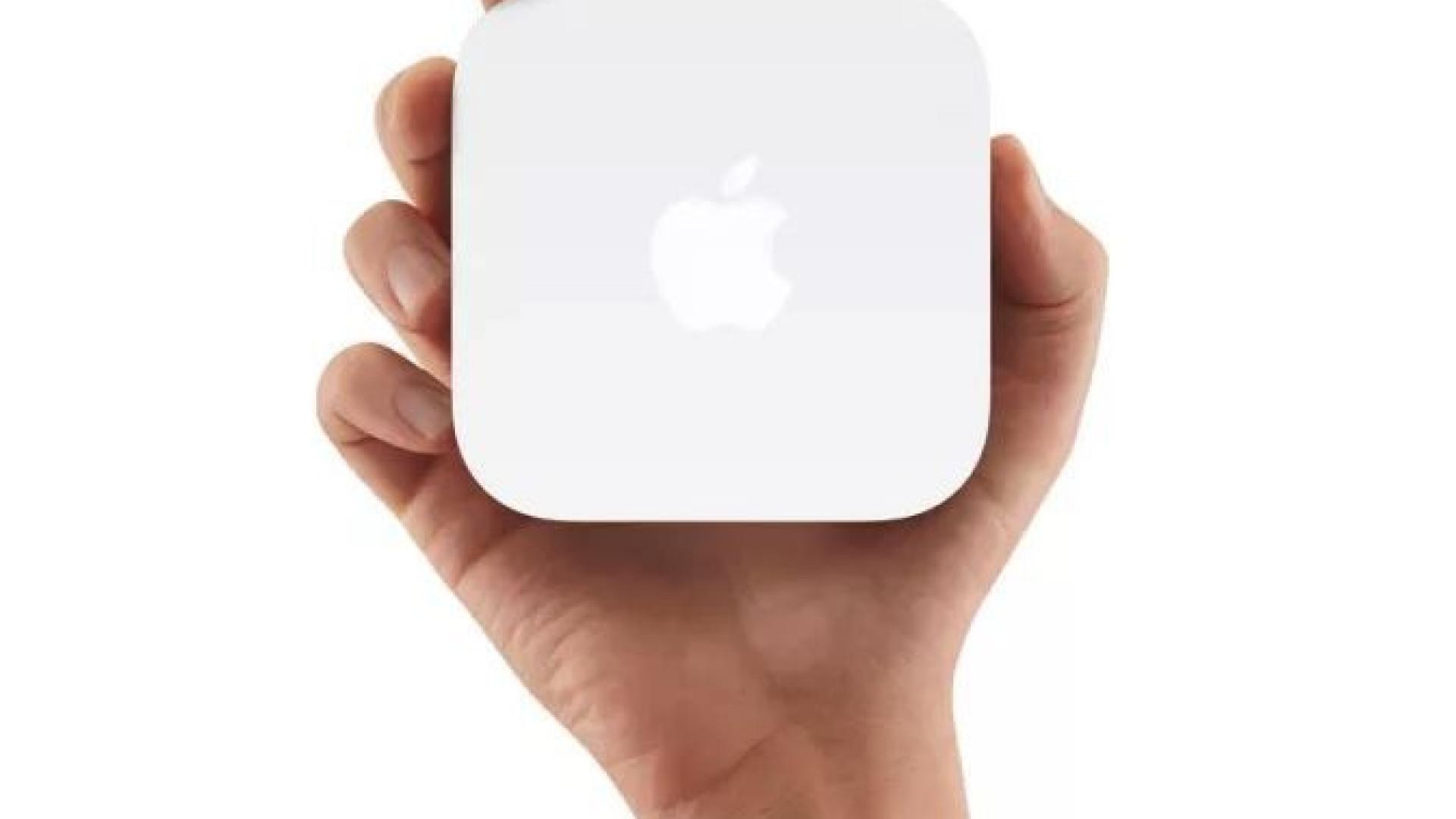 Apple vai parar de vender routers sem fios