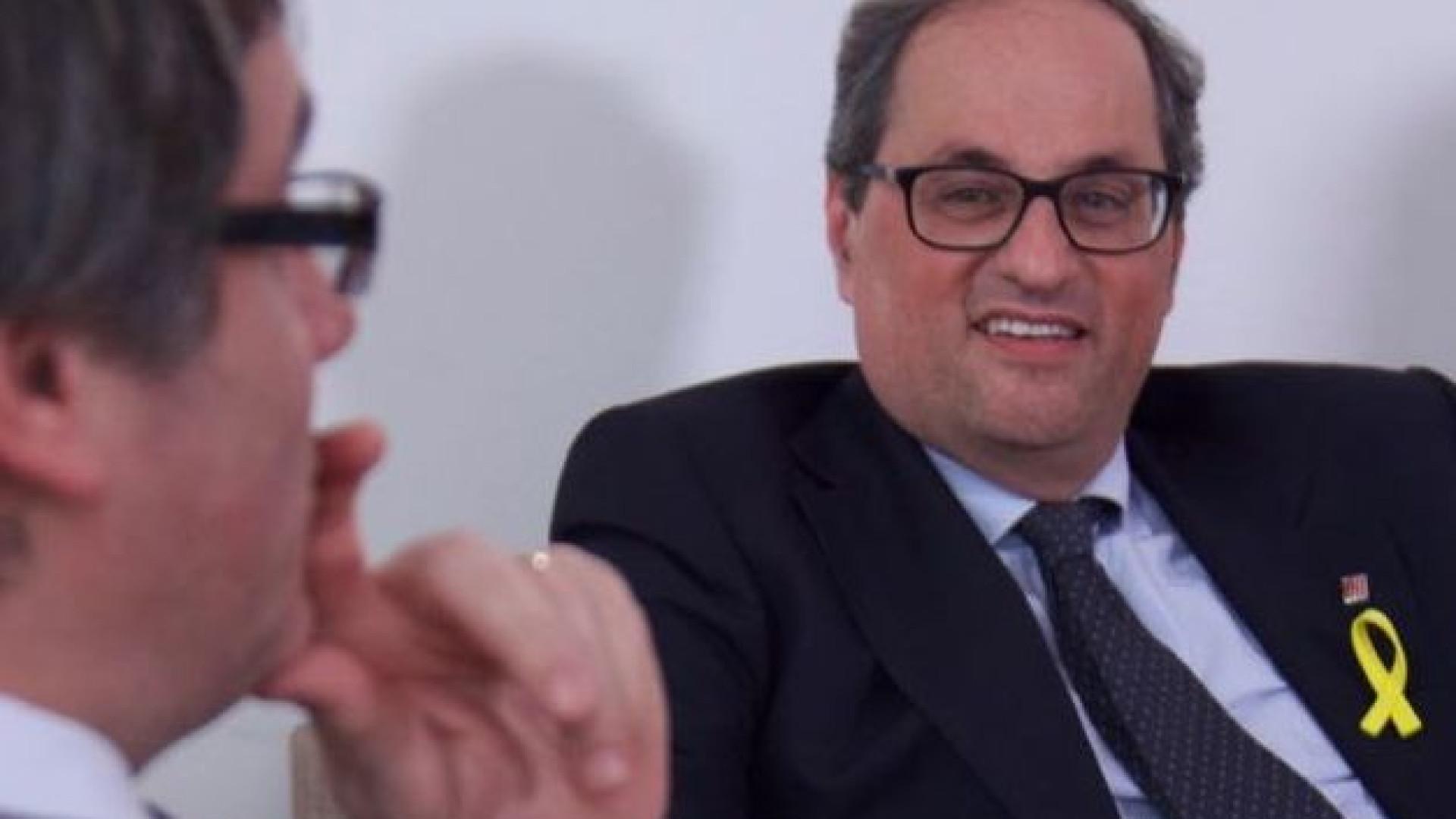 Catalunha: candidatura de Quim Torra é rejeitada na primeira votação