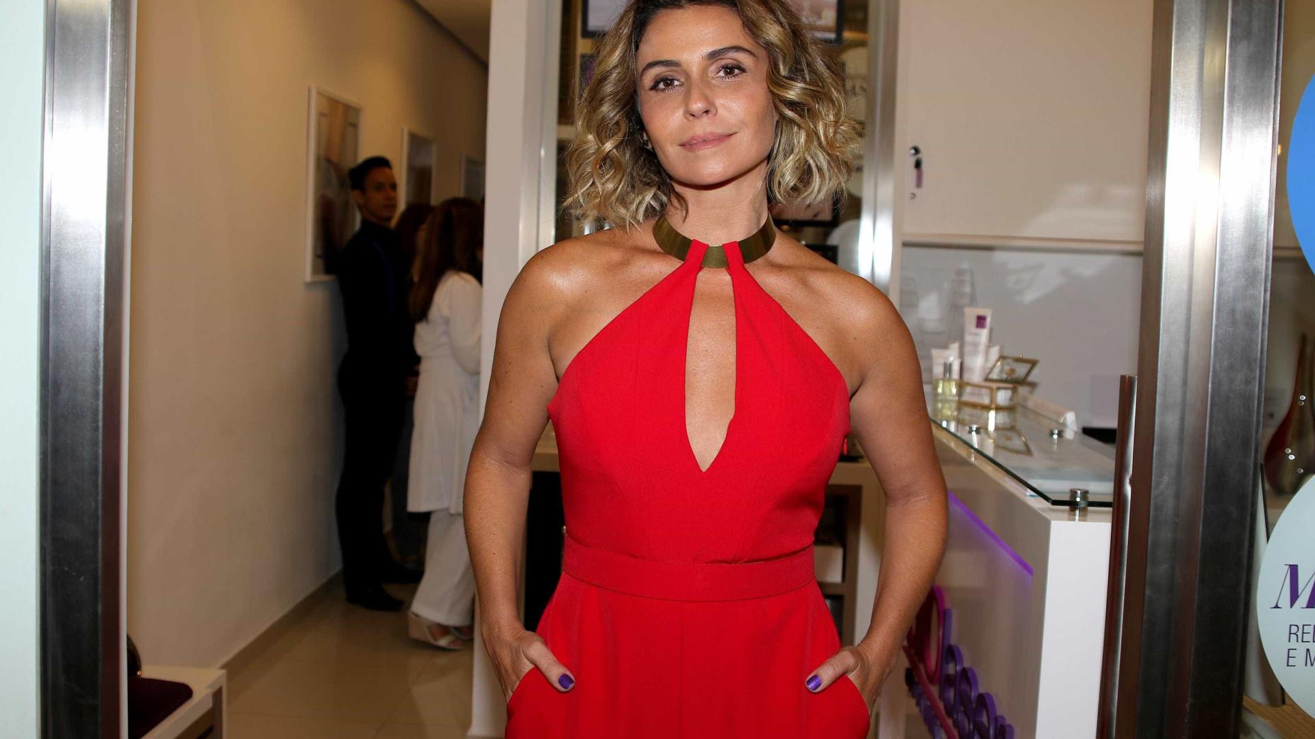 Giovanna Antonelli diz que é uma mãe 'muito desencanada'