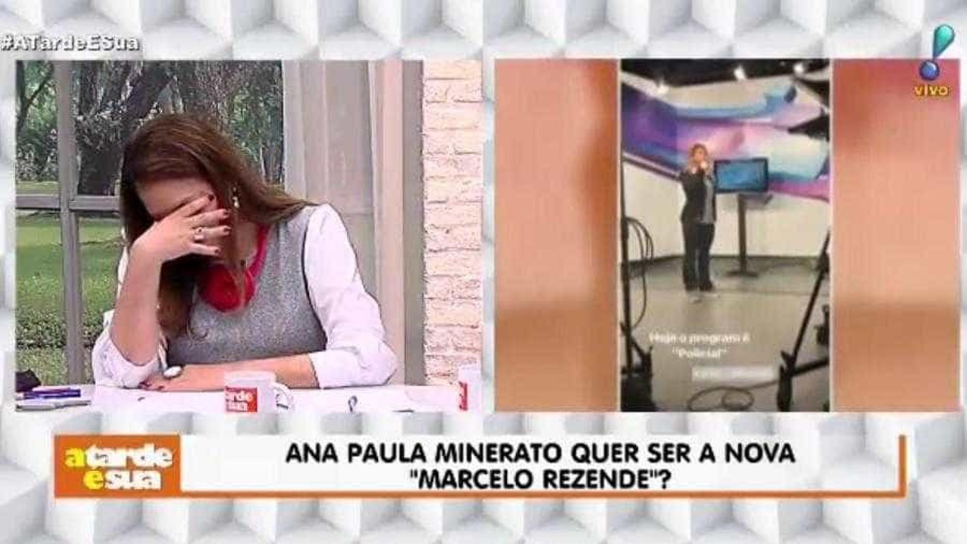 Sonia Abrão tira sarro de Minerato e ex-panicat responde: 'Ridícula'