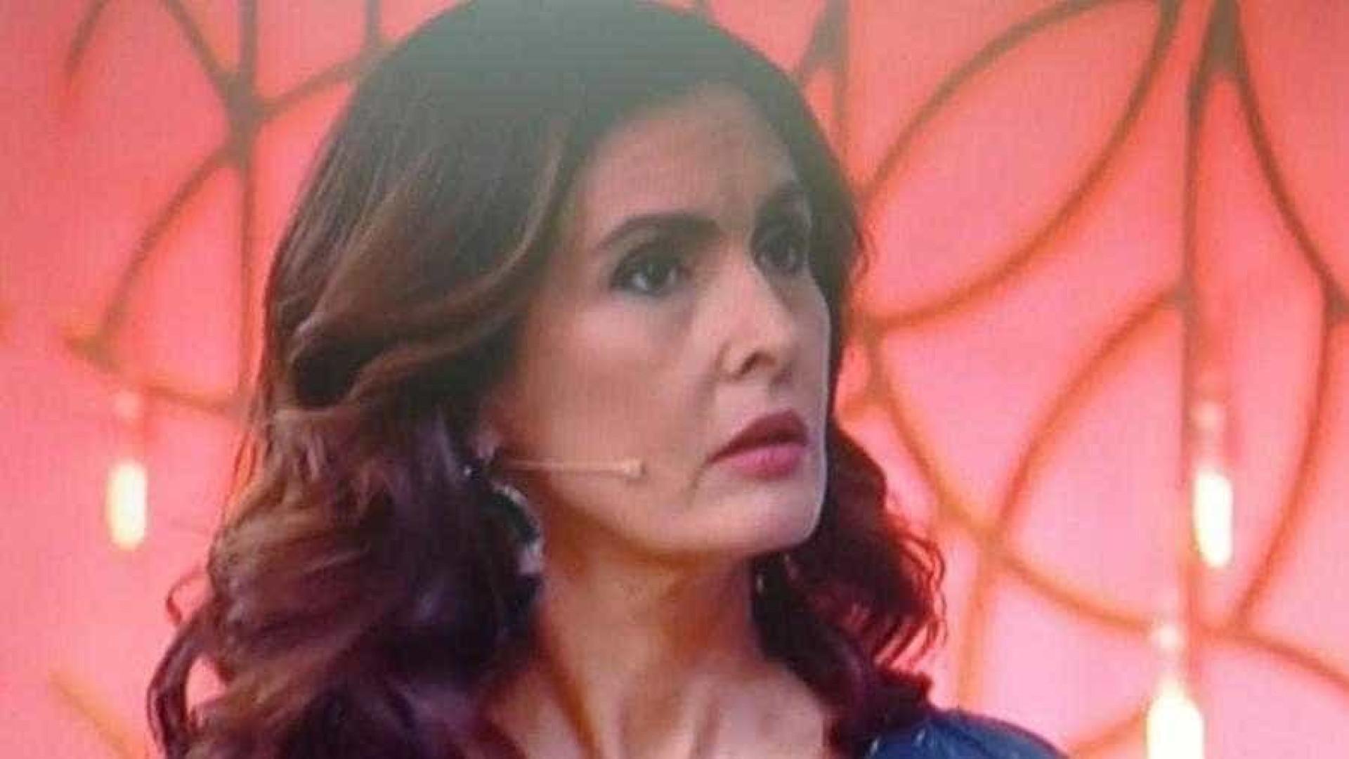 Transmissão falha, Fátima se perde no 'Encontro' e vira piada na web