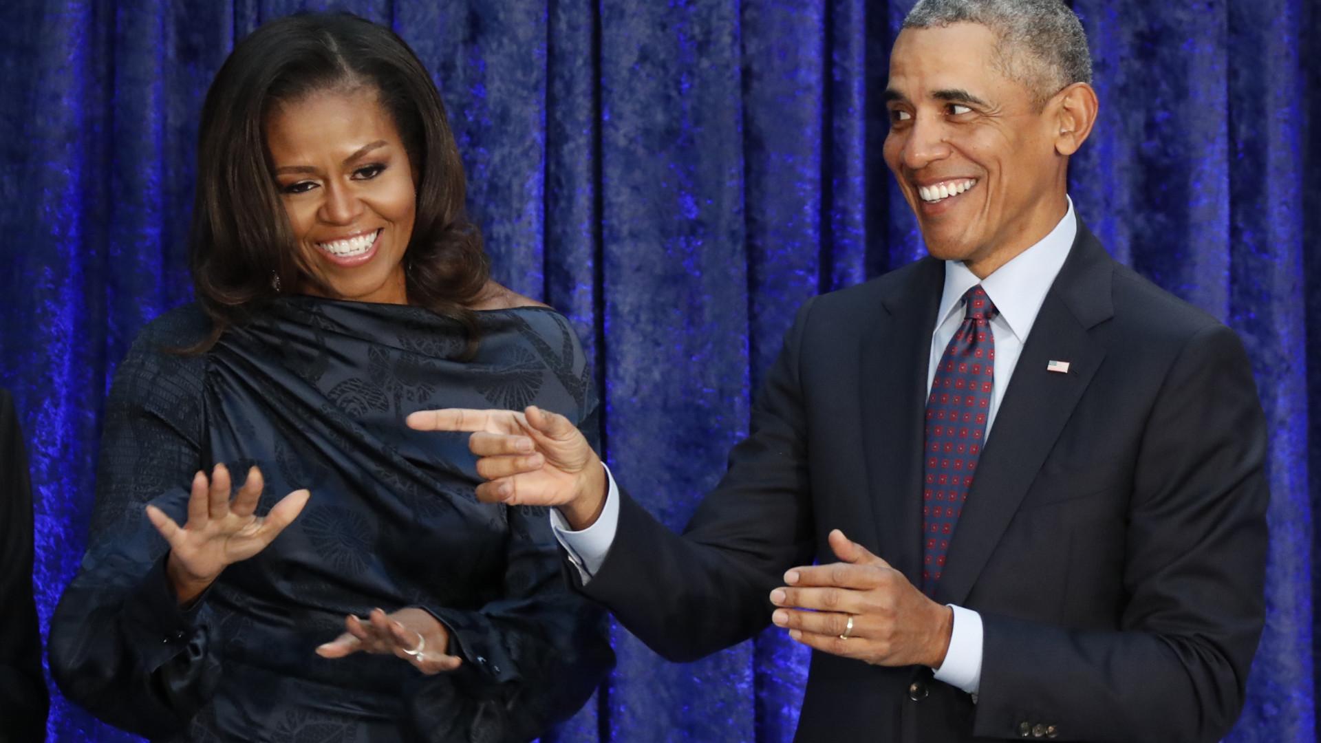 Michelle se declara a Barack Obama no seu aniversário