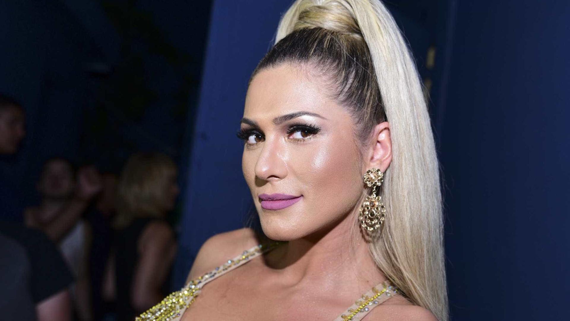 Lívia Andrade gera tumulto no casamento de Lexa e MC Guimê