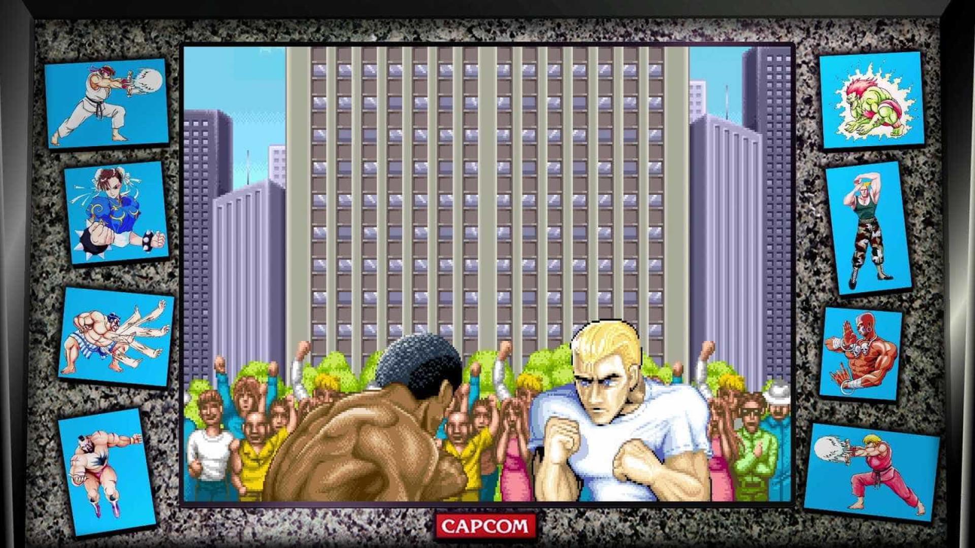 Street Fighter: 30th Anniversary Collection reúne 12 games da saga