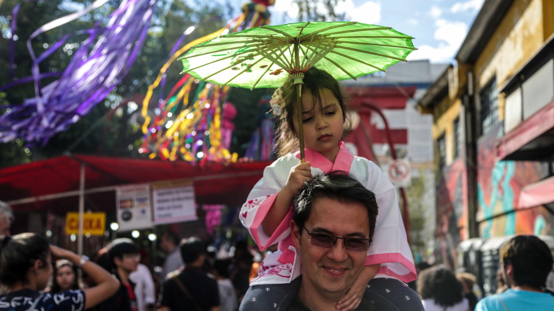 São Paulo comemora 110 anos da imigração japonesa com festas