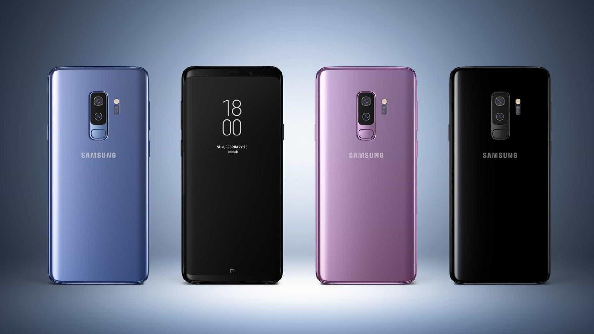 Galaxy S9 Plus é o celular mais vendido do mundo