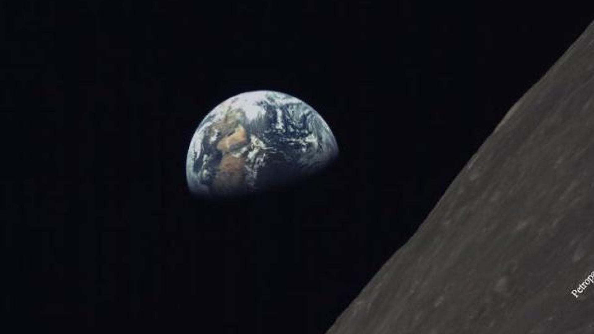 Satélite chinês capta uma imagem inspiradora da Terra