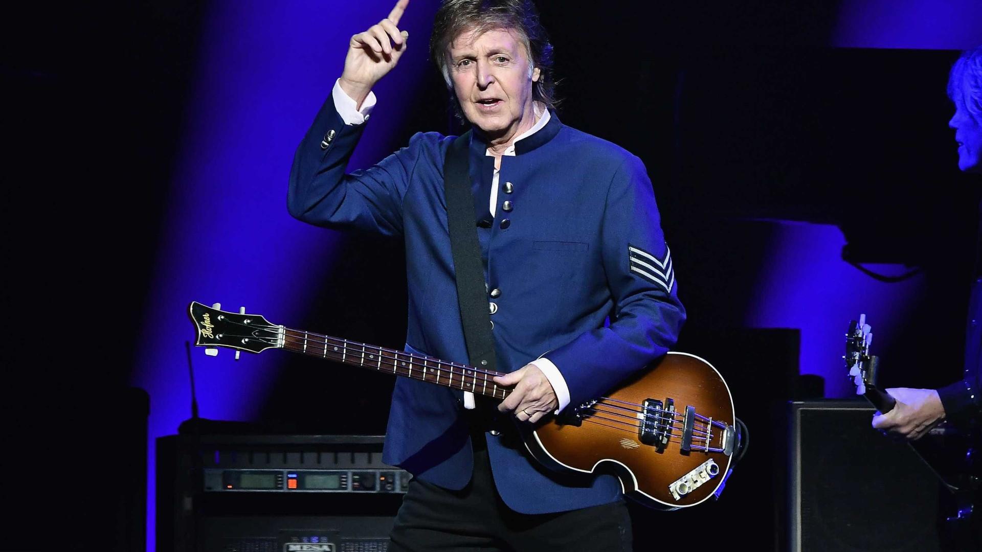 Paul McCartney inicia sua 8ª passagem pelo Brasil com show nesta terça
